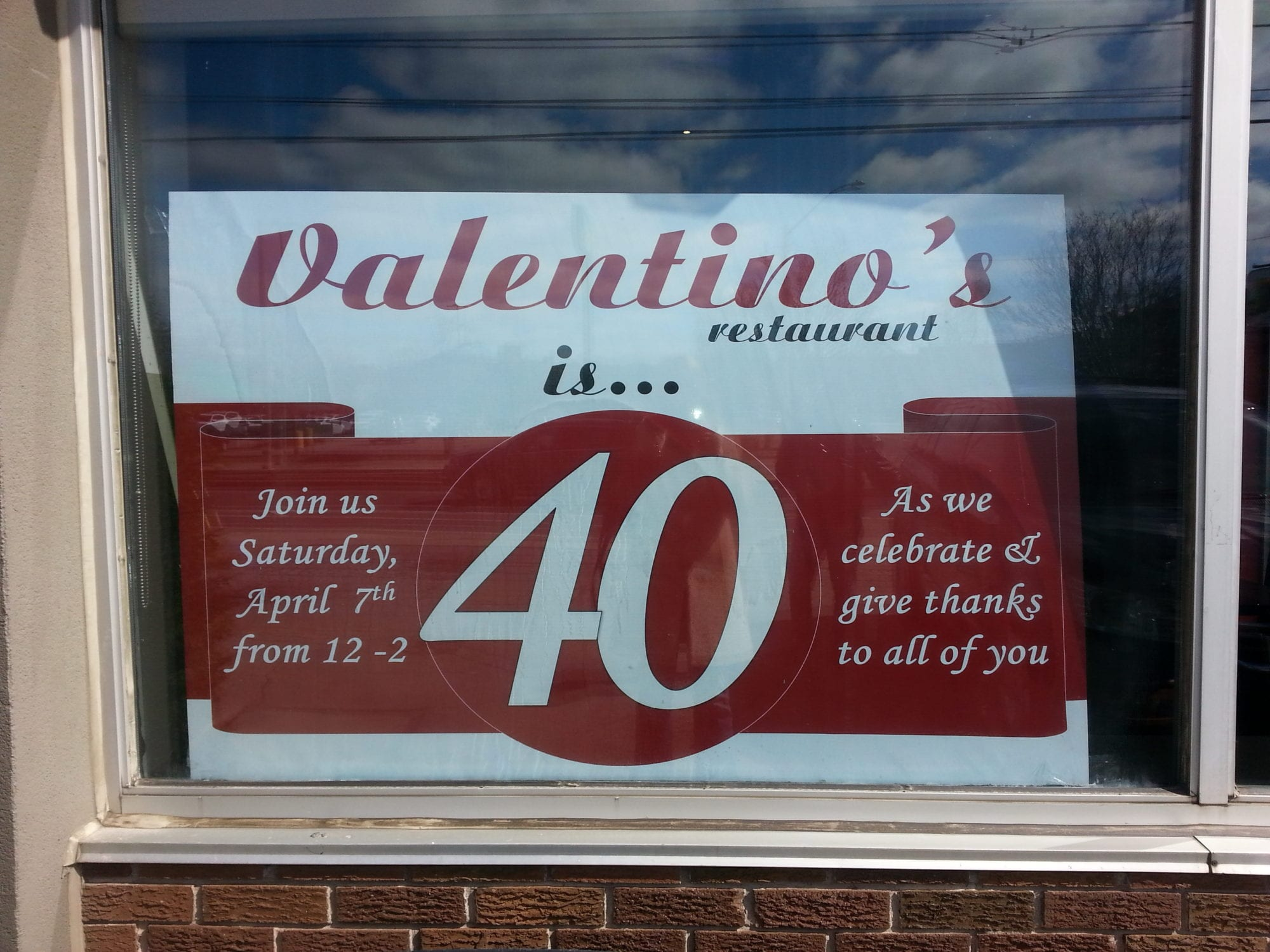 Valentino\'s Italian Restaurant - DaButchers Daughter - Melinda ...
